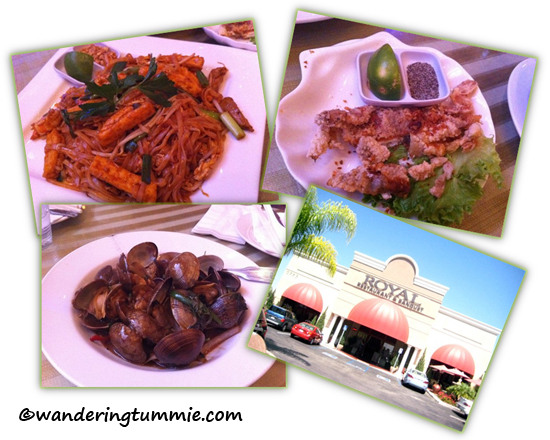 Royal Restaurant and Banquet, Westminster, CA. Vietnamese food, Vietnamese restaurant, Chinese restaurant, Asian restaurant, Asian food, Vietnamese Chinese restaurant, clams, pad thai, soft shell crab